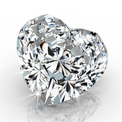 Tapeta ścienna diamentowy kształt serca