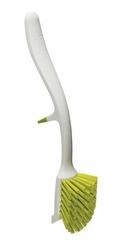 Szczotka do mycia naczyń Edge biało-zielona