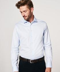 Elegancka błękitna koszula męska profuomo travel 43
