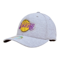 Czapka z daszkiem mitchell  ness nba los angeles lakers melange knit 110 snapback - los angeles lakers