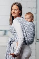Perła moja druga chusta do noszenia dzieci, splot żakardowy 100 bawełna rozmiar m
