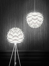 Lampa wisząca silvia umage biała 02007