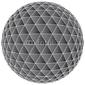 Tapeta ścienna 3d abstrakcjonistyczny balowy tło - wektorowa ilustracja