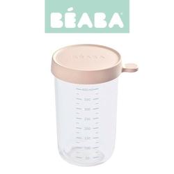 Słoiczek beaba z hermetycznym zamknięciem 400 ml -  pink