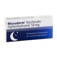 Moradorm difenhydramina 50 mg tabletki