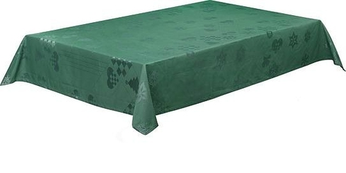 Obrus natale zielony 150 x 320 cm