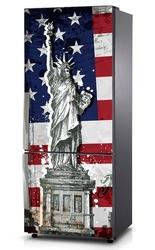 Mata na lodówkę - symbol wolności 0499 - mata magnetyczna
