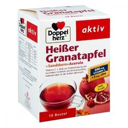 Doppelherz heisser granatapfel granulat granat z rokitnikiem i a