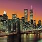 New york brooklyn bridge - fototapeta