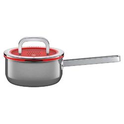 Wmf - rondel fusiontec functional 16 cm, platynowy - czerwony || srebrny || platynowy
