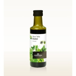 Bio olej do masażu głowy brahmi taila organiczny 100ml cosmoveda