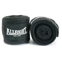 Bandaż bokserski allright czarny 3m