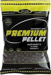 Premium pellet method black halibut lorpio 4.5mm do metody 700g
