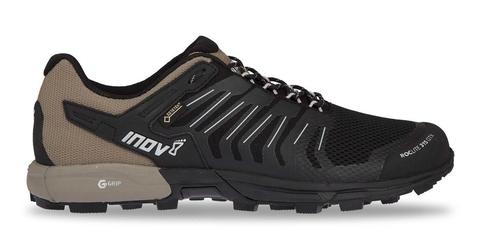 Buty inov-8 roclite 315 gtx  czarno-brązowe