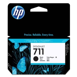 Hp oryginalny ink cz129a, no.711, black, 38ml, hp designjet t120, t520