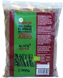 Alternativa | cukier trzcinowy mascobado z filipin 500g | organic - fair trade