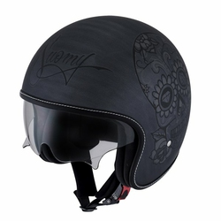 Kask SUOMY ROKK calavera  GREY SCRATCH