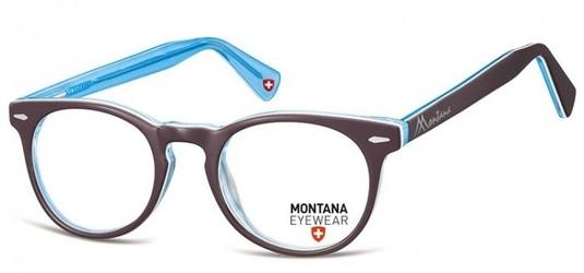 Okragle oprawki optyczne, korekcyjne montana ma95h