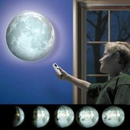 Lampa nocna kinkiet  księżyc moon z pilotem grundig
