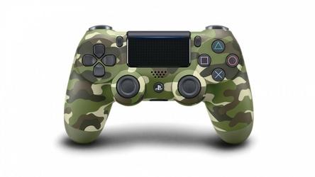 Sony Kontroler PS4 Dualshock Cont Green Camo v2