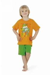 Cornette 78916 Crocodyl pomarańczowy piżama chłopięca