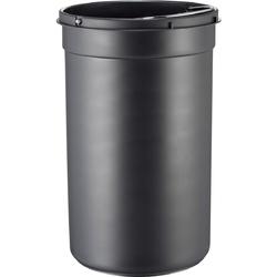 Kosz na śmieci czarny pedałowy kickmaster junior 12 litrów wesco 180312-62