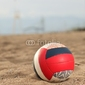Obraz na płótnie canvas trzyczęściowy tryptyk siatkówka plażowa