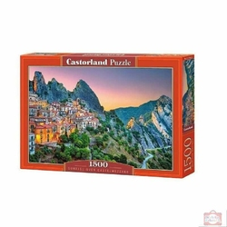 Castor puzzle 1500 sunrise over castelmezzano 1912