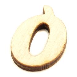 Drewniana literka do rękodzieła - Ó - O1
