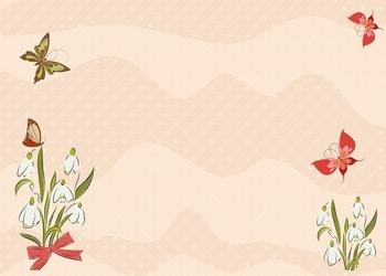 137 motyle kwiaty tablica suchościeralna