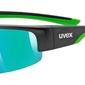 Okulary uvex sportstyle 215 czarny matzielony
