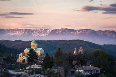 Gruzja, bagrata - plakat premium wymiar do wyboru: 91,5x61 cm