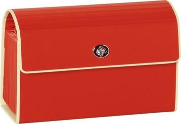 Teczka na dokumenty z przegródkami die kante b6 czerwona