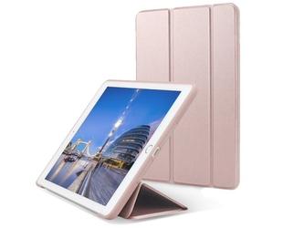 Etui alogy smart case do apple ipad 9.7 20172018 różowe - różowy