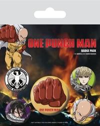 One punch man destructive - przypinki