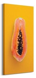 Papaja - obraz na płótnie