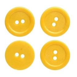 Guziki 10mm60 szt. - żółty - ŻÓŁ