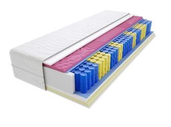 Materac kieszeniowy kolonia molet max plus 70x125 cm średnio twardy visco memory dwustronny