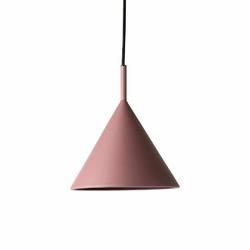 HK Living :: Lampa wisząca Triangle metalowa fioletowa mat, rozm M