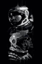 Interstellar - plakat premium wymiar do wyboru: 40x50 cm