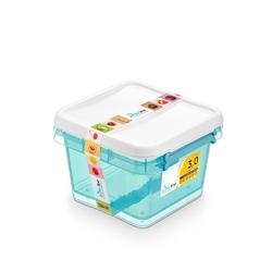 Pojemnik do przechowywania żywności arcticline kwadratowy, zestaw 2 pojemników 2 x 3,0 l