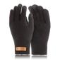 Męskie rękawiczki pięciopalczaste smart brodrene r1 czarne