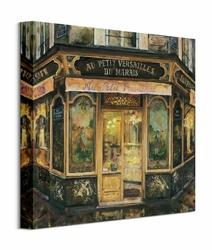 Au Petit Versailles - obraz na płótnie