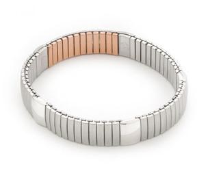 bransoletka magnetyczna 1045 z siłą magnesu 6000 Gaussów i polerowanymi ogniwami