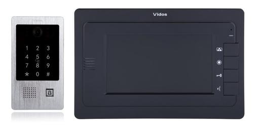 Wideodomofon VIDOS M323B  S20DA - Szybka dostawa lub możliwość odbioru w 39 miastach