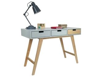 Drewniane biurko scandi w stylu skandynawskim 110 cm