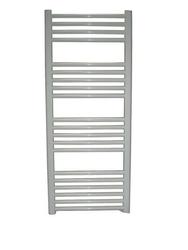 Grzejnik łazienkowy wetherby - elektryczny, wykończenie proste, 500x1200, białyral - biały