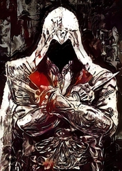 Legends of bedlam - ezio auditore, assassins creed - plakat wymiar do wyboru: 40x60 cm