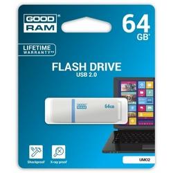 GOODRAM UMO2 64GB USB 2.0 Biały