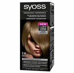 Syoss Color, farba do włosów, 7-6 średni blond